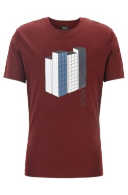 28c3fc131 HUGO BOSS | T-Shirts for Men | Slim Fit, Casual & Classic
