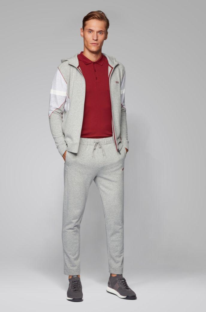S.Café® slim-fit polo shirt with logo tape details