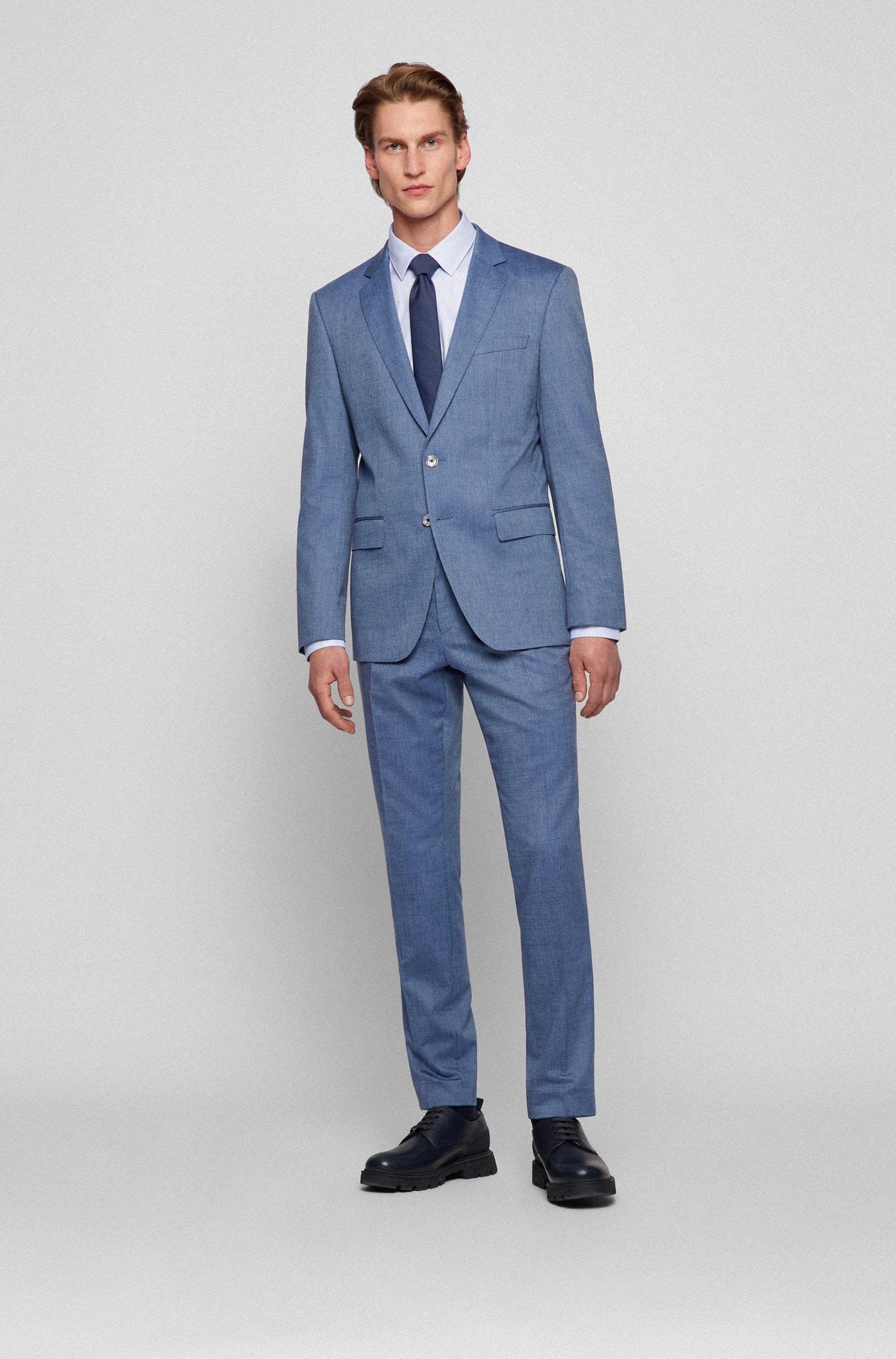 Slim-Fit Hemd aus Baumwolle mit Fresh-Active-Finish