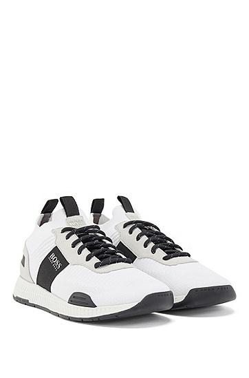 针织鞋袜跑步混搭运动鞋,  101_天然色