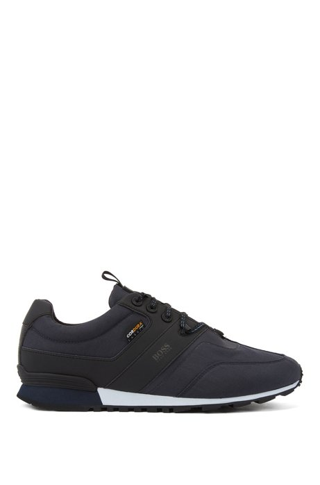 Hybrid low-top trainers with Cordura® fabric, Dark Blue