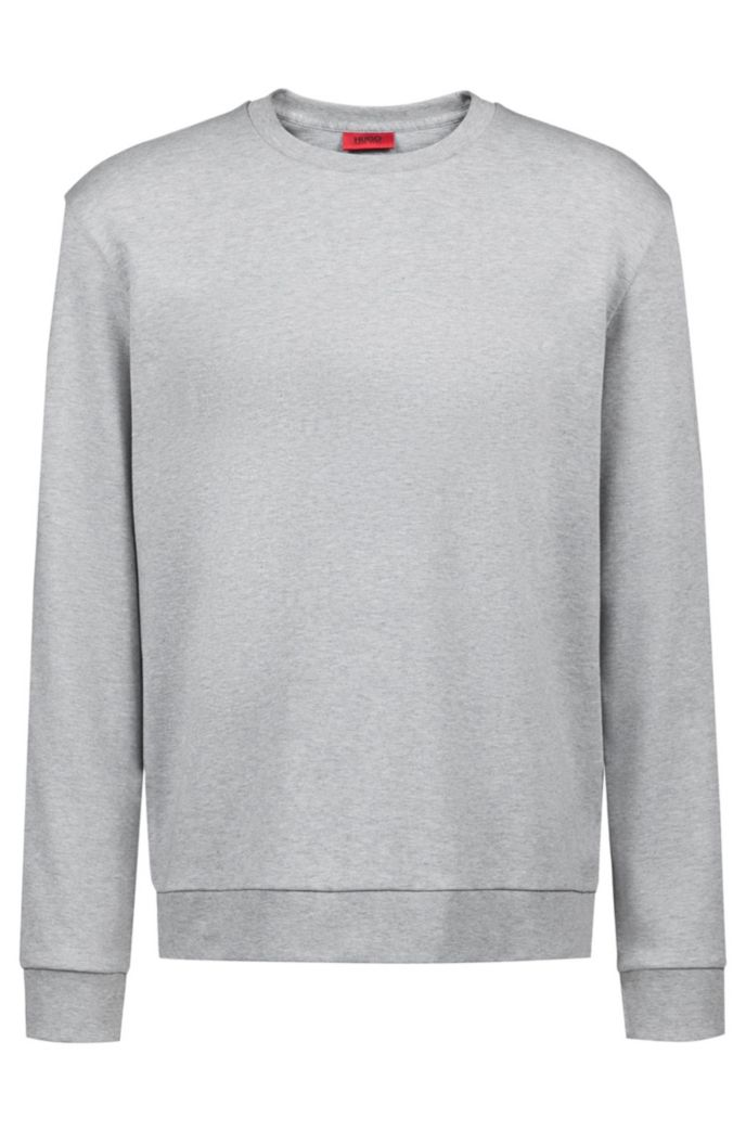 Unisex-Sweatshirt aus Baumwolle mit spiegelverkehrter Personalisierung