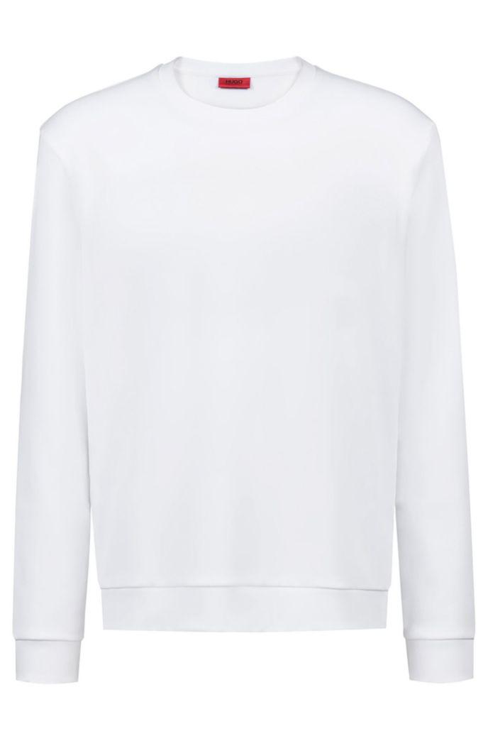 Sudadera de algodón unisex con personalización invertida