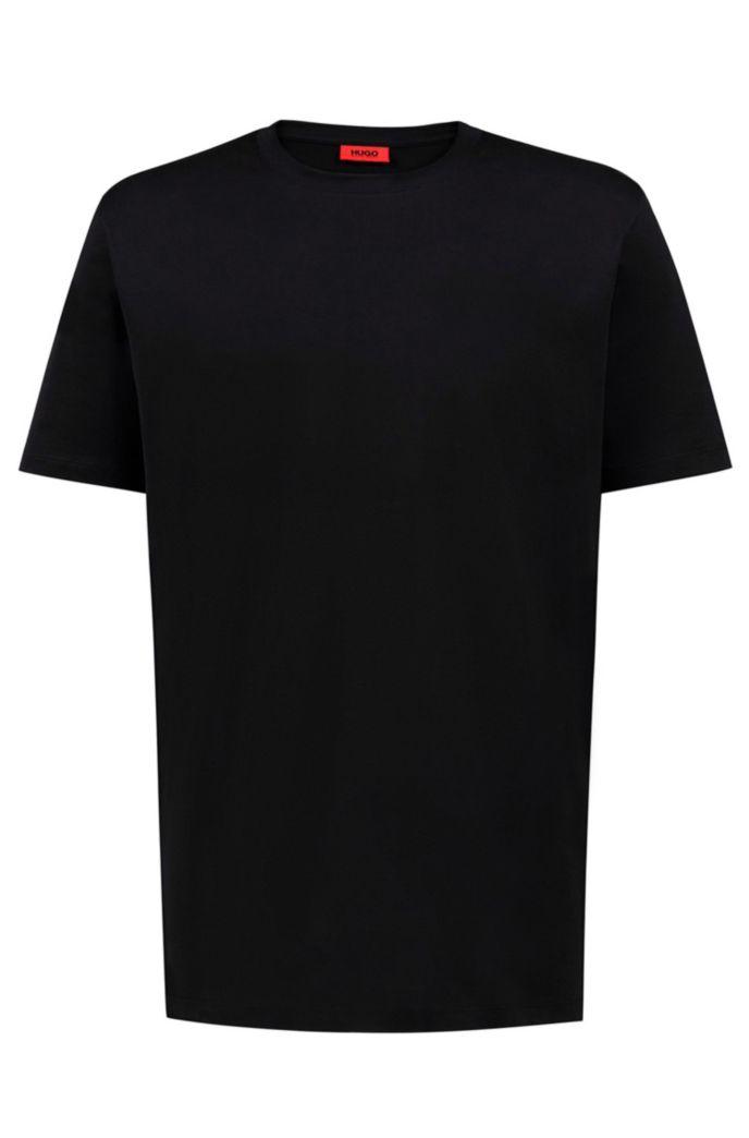 Unisex-T-Shirt aus Baumwolle mit spiegelverkehrter Personalisierung