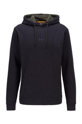 Kapuzen-Sweatshirt aus umweltfreundlicher recot2®-Baumwolle, Schwarz