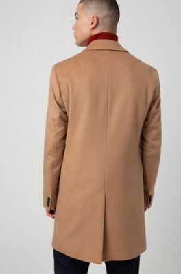 Slim Coat Cashmere With Signature In Stitching Fit Pure eWDHIEYb29
