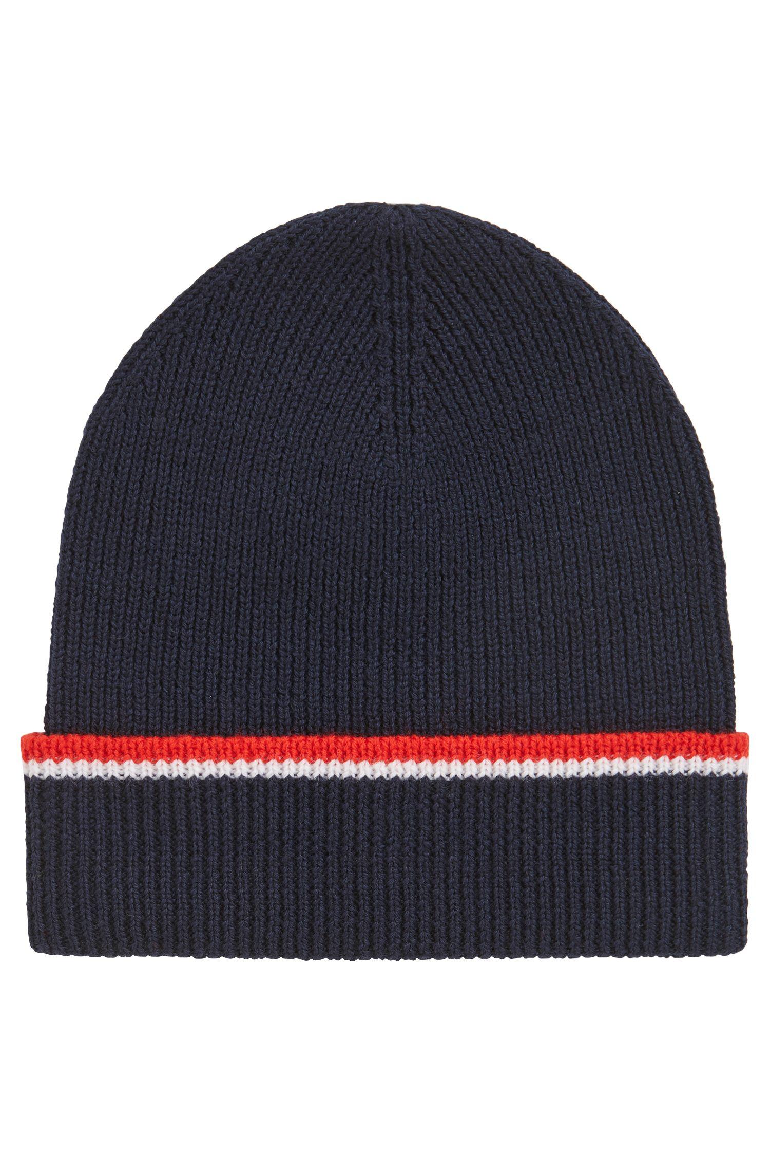 Limited-edition Paris Saint-Germain hat and scarf set, Dark Blue