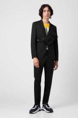 Brauner Anzug für Herren | 100% Schurwolle