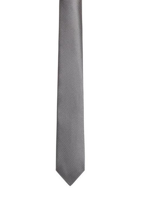 Cravate en soie pure à motif en jacquard tissé , Fantaisie