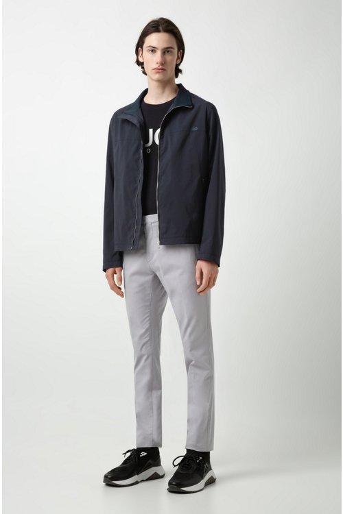 Hugo Boss - Camiseta con logo en punto sencillo de algodón - 2
