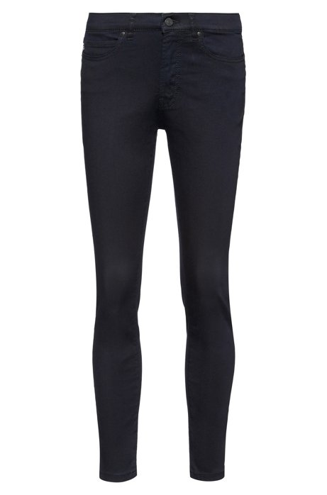 CHARLIE Super Skinny-Fit Jeans aus Magic-Flex-Denim, Dunkelblau