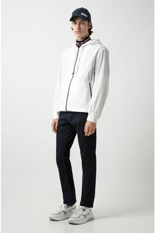 Hugo Boss - Regular-fit jeans in stretch denim - 2
