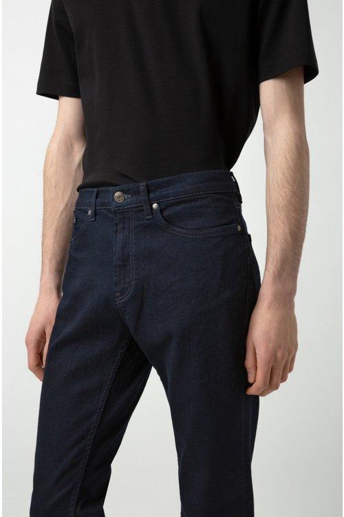 Hugo Boss - Regular-fit jeans in stretch denim - 5