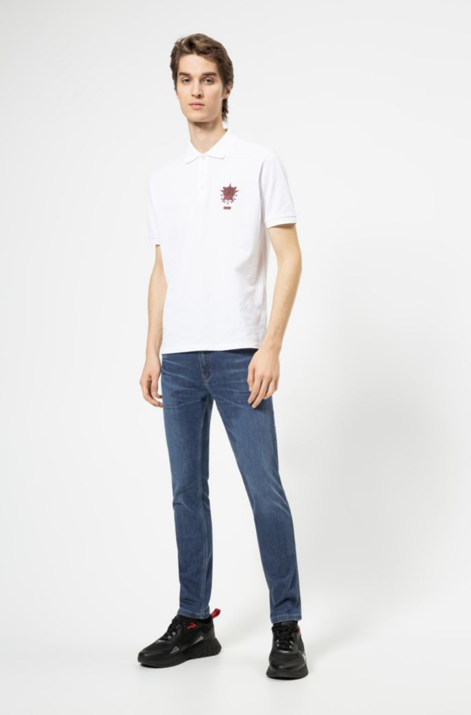 Jean Skinny Fit en denim bleu stretch confortable