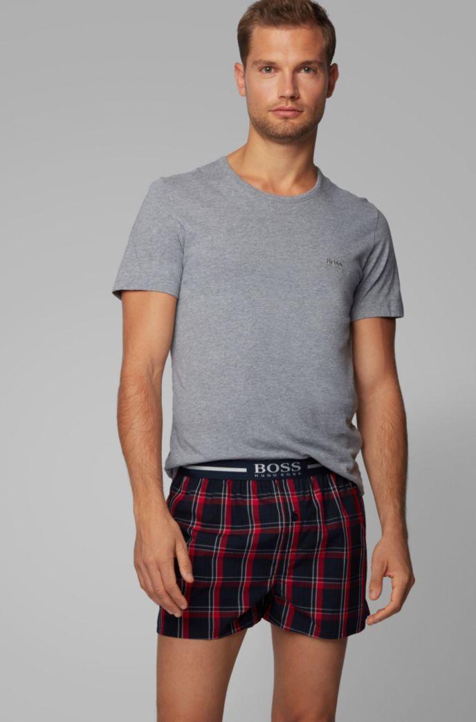 Paquete de dos shorts de pijama con logo metalizado en la cintura