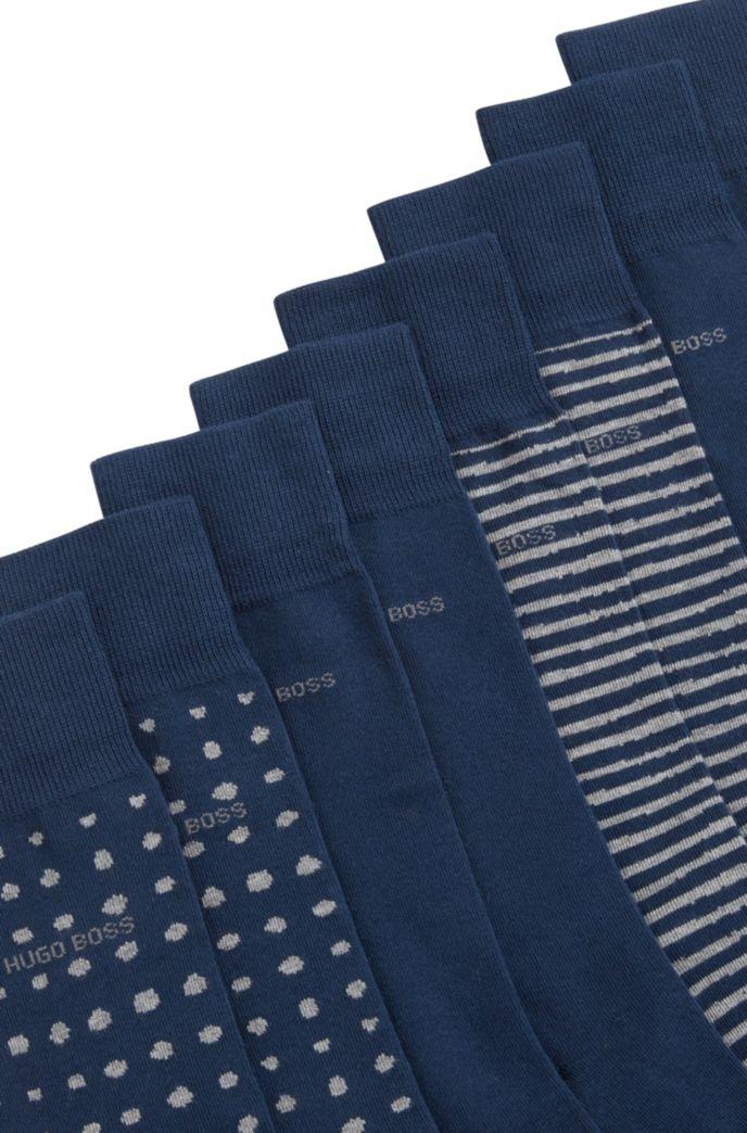 Four-pack of gift-boxed regular-length socks