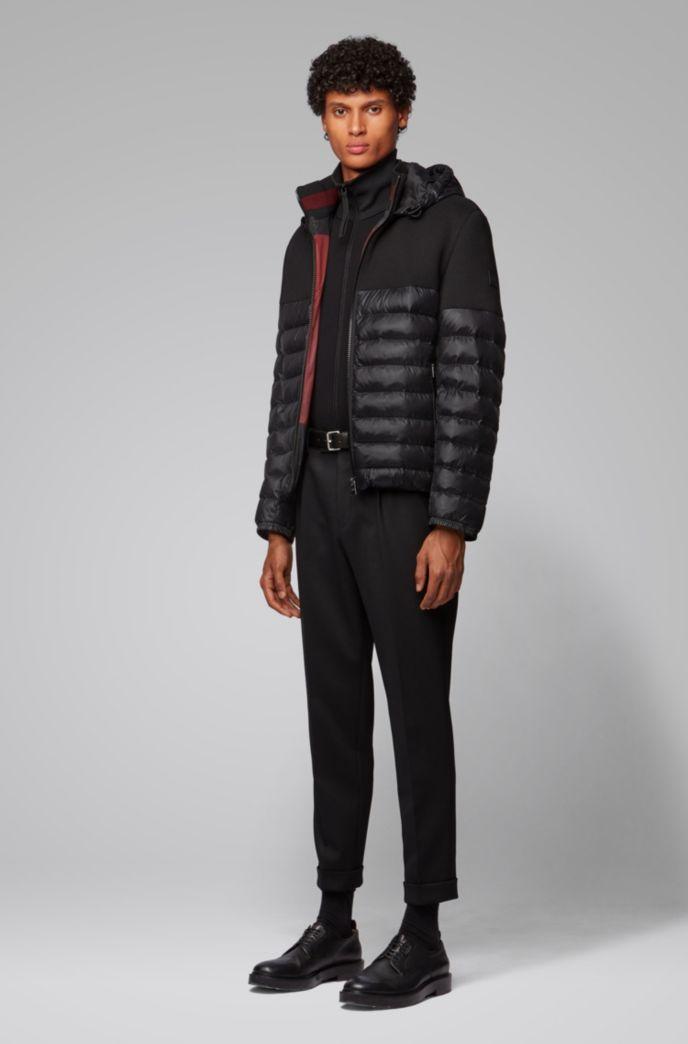 Wasserabweisende Regular-Fit Jacke