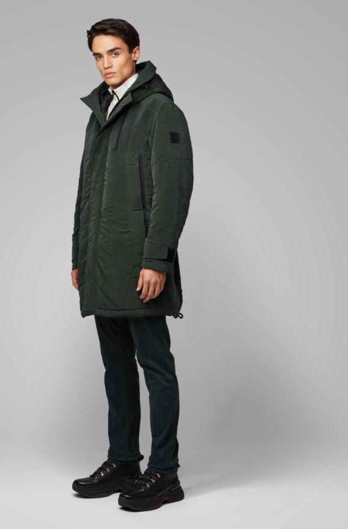 Relaxed-Fit Jacke aus gewachstem Gewebe mit PrimaLoft®-Füllung