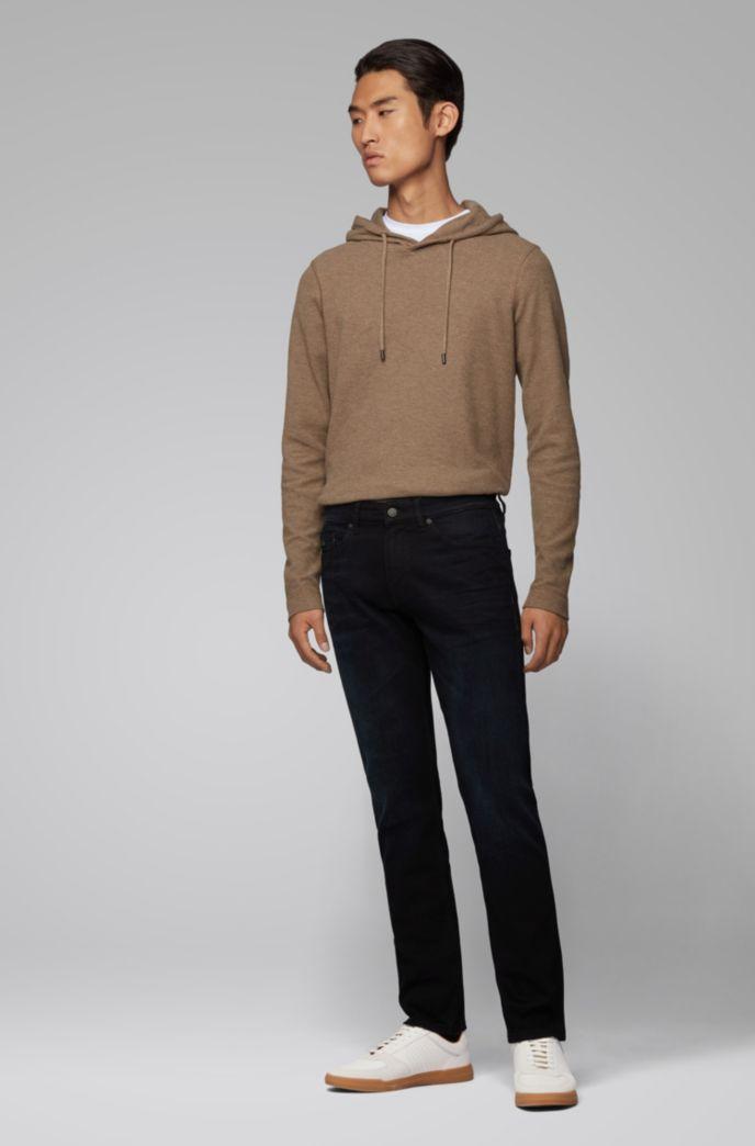 Slim-fit jeans van overgeverfd comfortabel stretchdenim