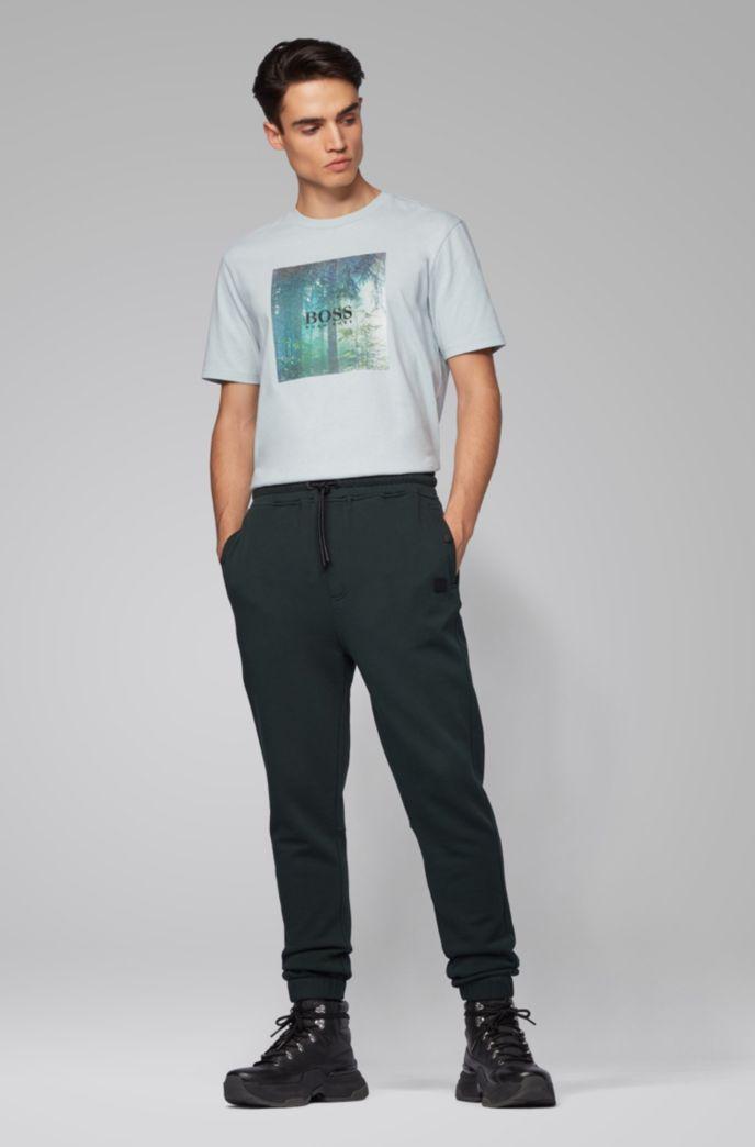 T-shirt en coton à imprimé graphique emblématique de la collection