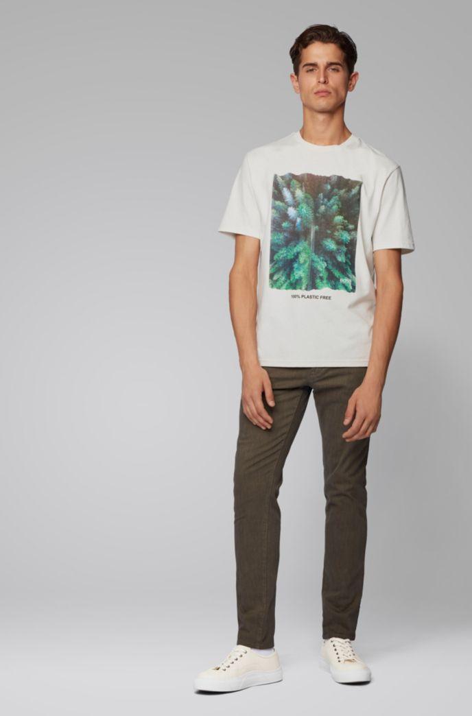 Camiseta relaxed fit sin plástico con gráfico estampado