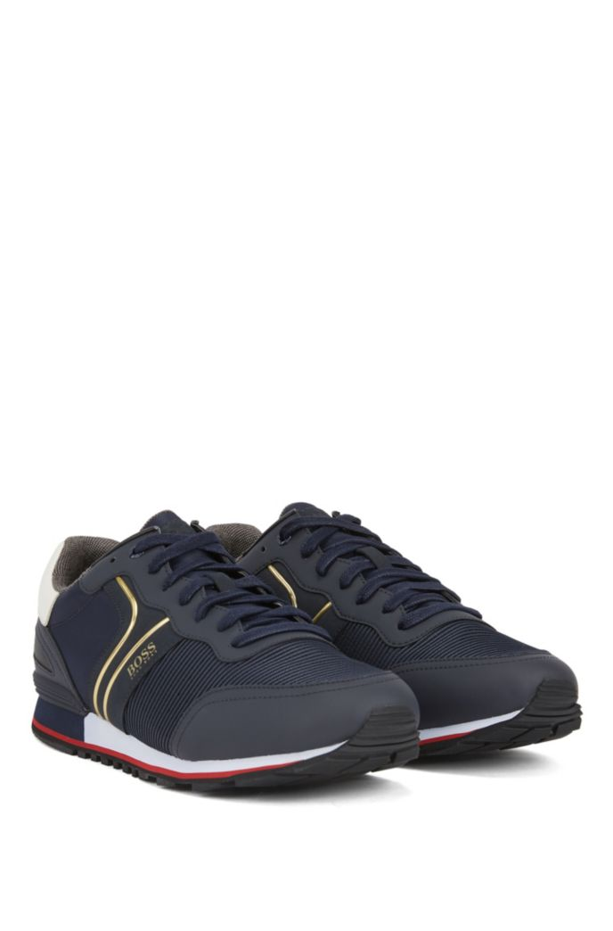 Baskets style chaussures de course avec doublure en charbon de bambou