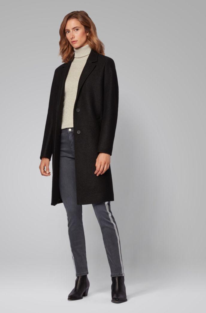 Slim-Fit Jeans aus Stretch-Denim mit Seitenstreifen