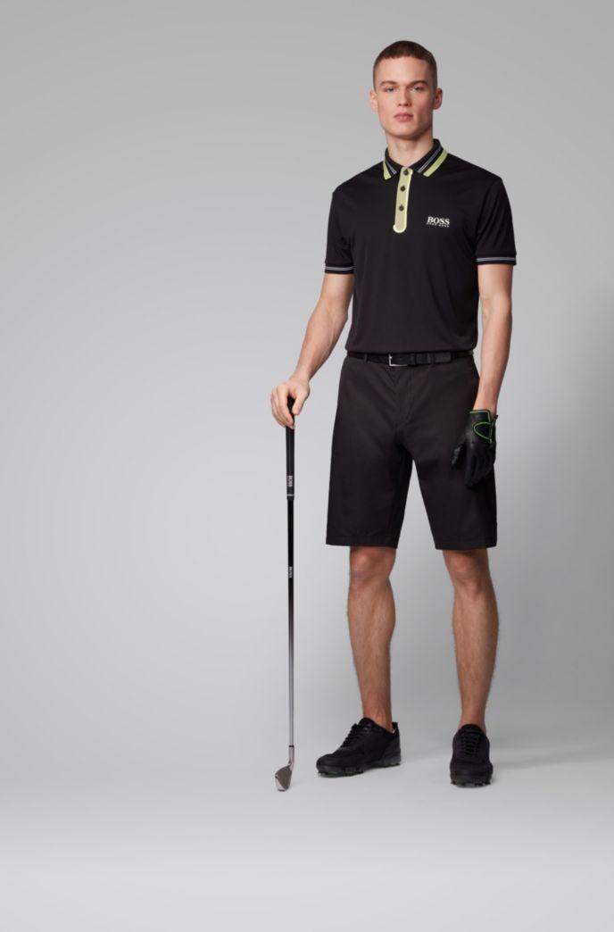 Short Regular Fit en twill de jersey stretch anti-humidité