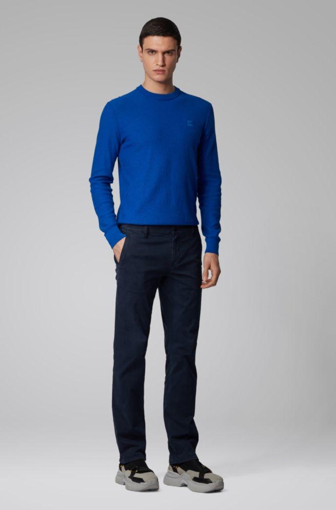 Pullover aus leichter Baumwolle mit Leinen