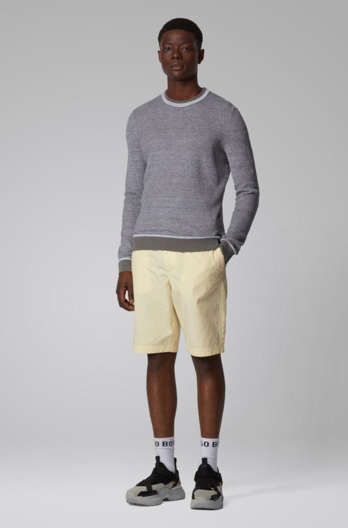 Pullover mit zweifarbiger Struktur
