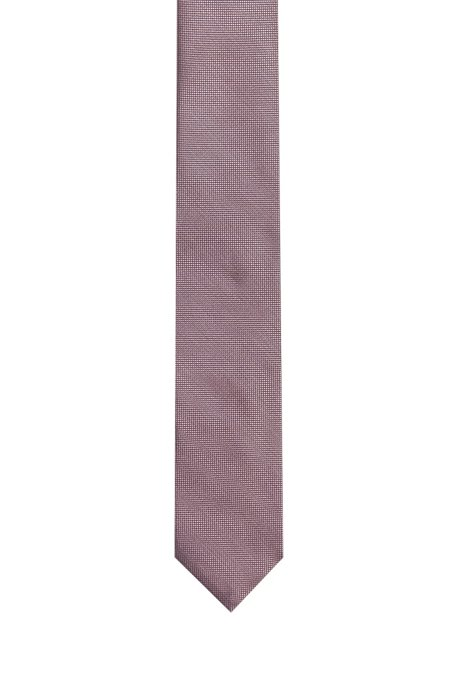 Dezent gemusterte Krawatte aus Seiden-Jacquard, Gemustert