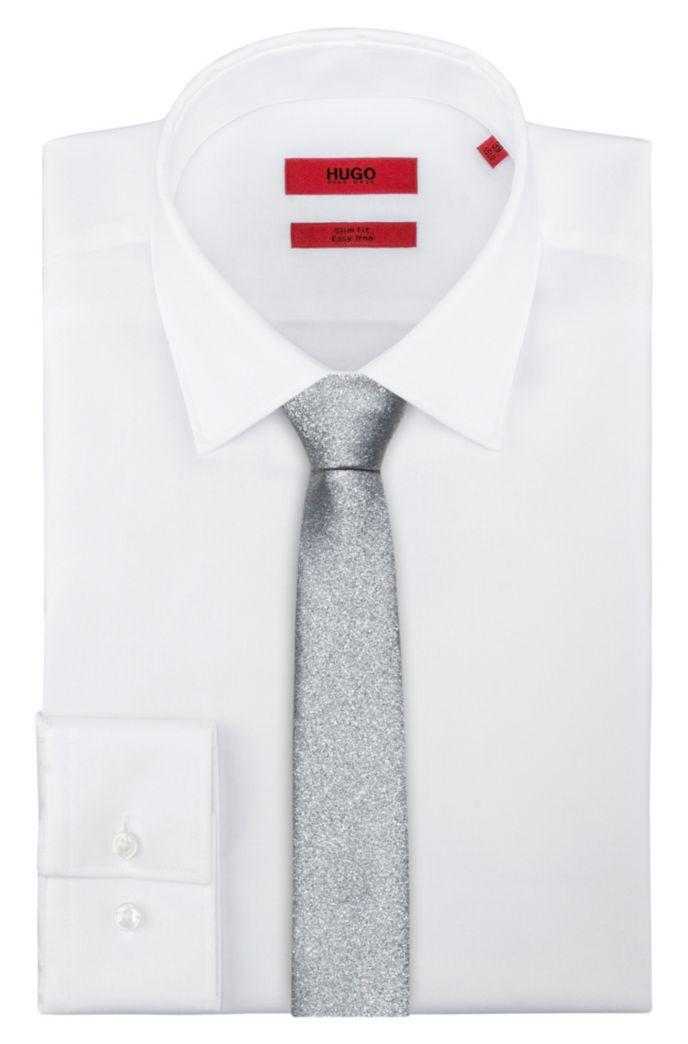 Jacquard-Krawatte mit schimmerndem Finish