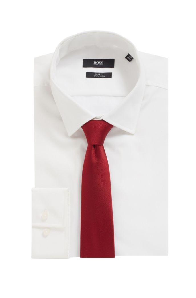 Cravate en jacquard de soie réalisée en Italie
