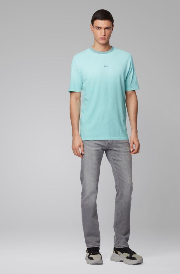 T-shirt en coton Relaxed Fit à la finition délavée à l'acide