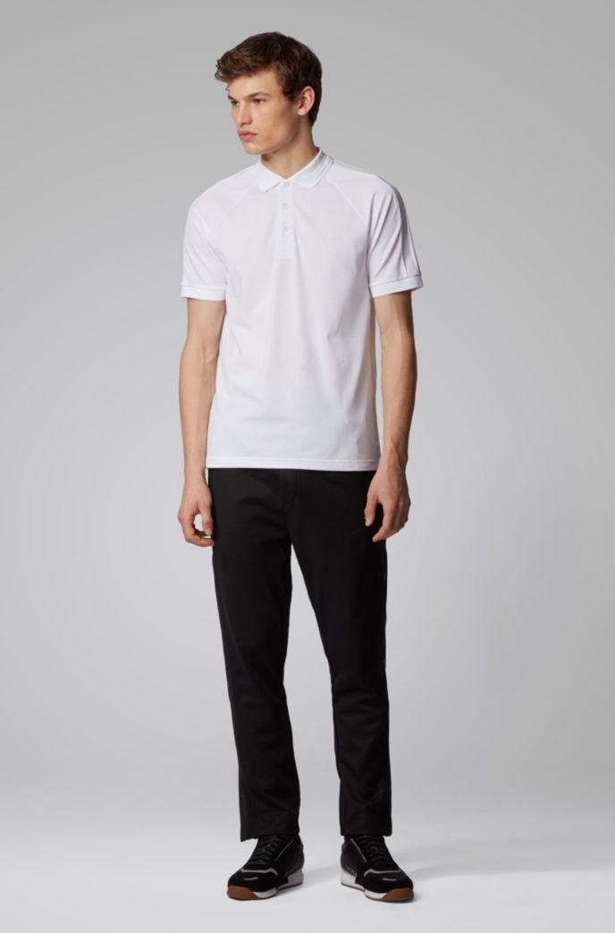 Poloshirt aus Stretch-Piqué mit S.Café®-Fasern