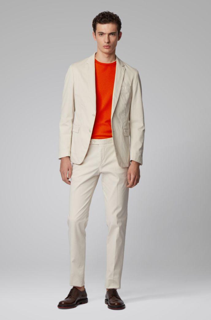 Pullover aus reinem Baumwoll-Jersey
