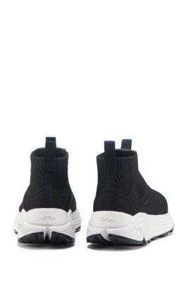 Sock Sneakers ohne Schnürsenkel mit Vibram Sohle von HUGO