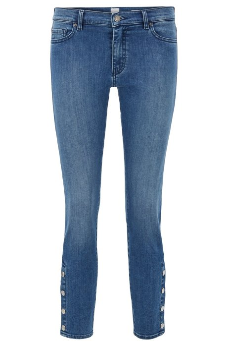 Slim-Fit Jeans aus Red-Cast Stretch-Denim, Blau