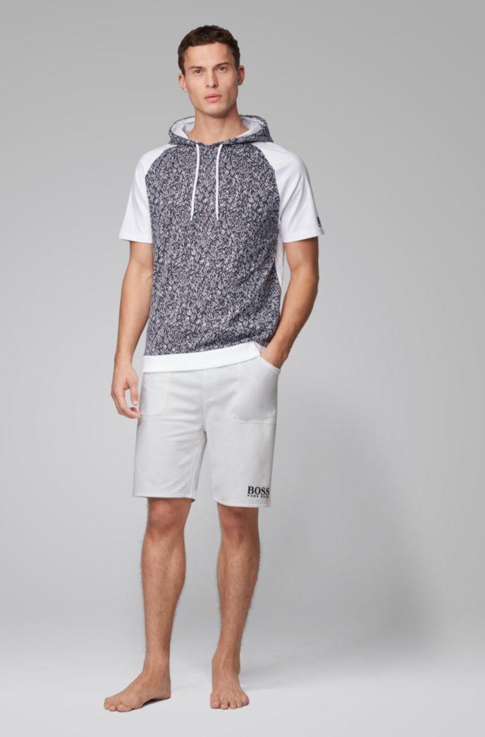 Loungewear-Shorts aus French Terry mit Tunnelzugbund