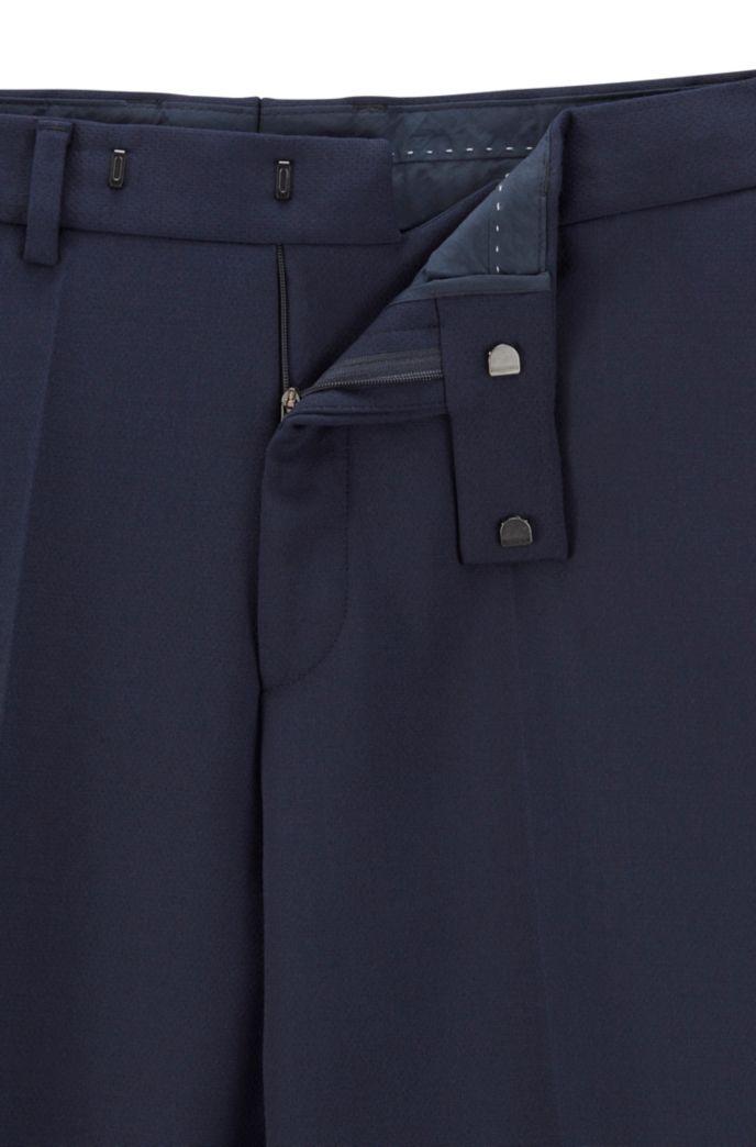 Slim-fit broek met ritsen aan de zomen uit de Fashion Show-collectie