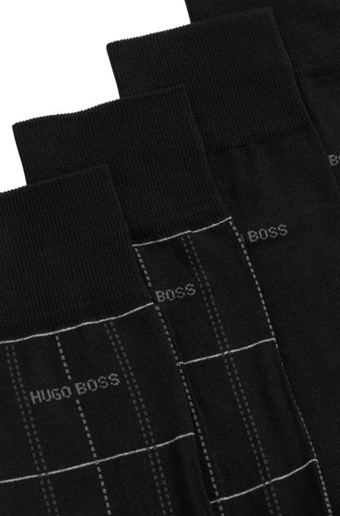 Zweier-Pack mittelhohe Socken mit merzerisiertem Finish