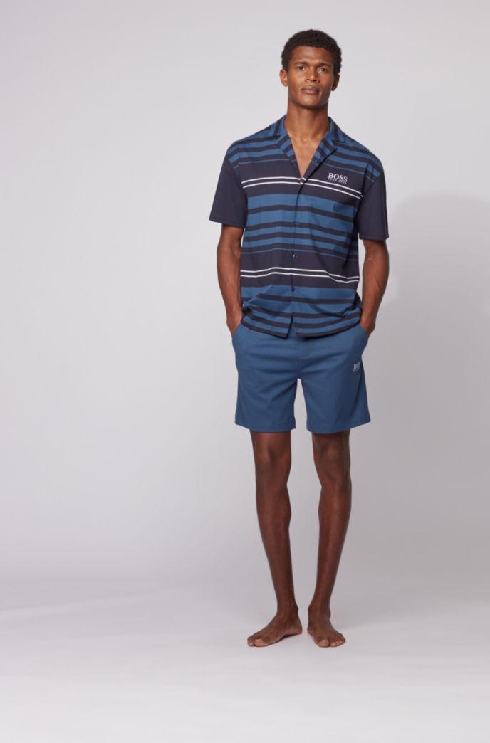 Kurzer Pyjama aus Interlock-Baumwolle