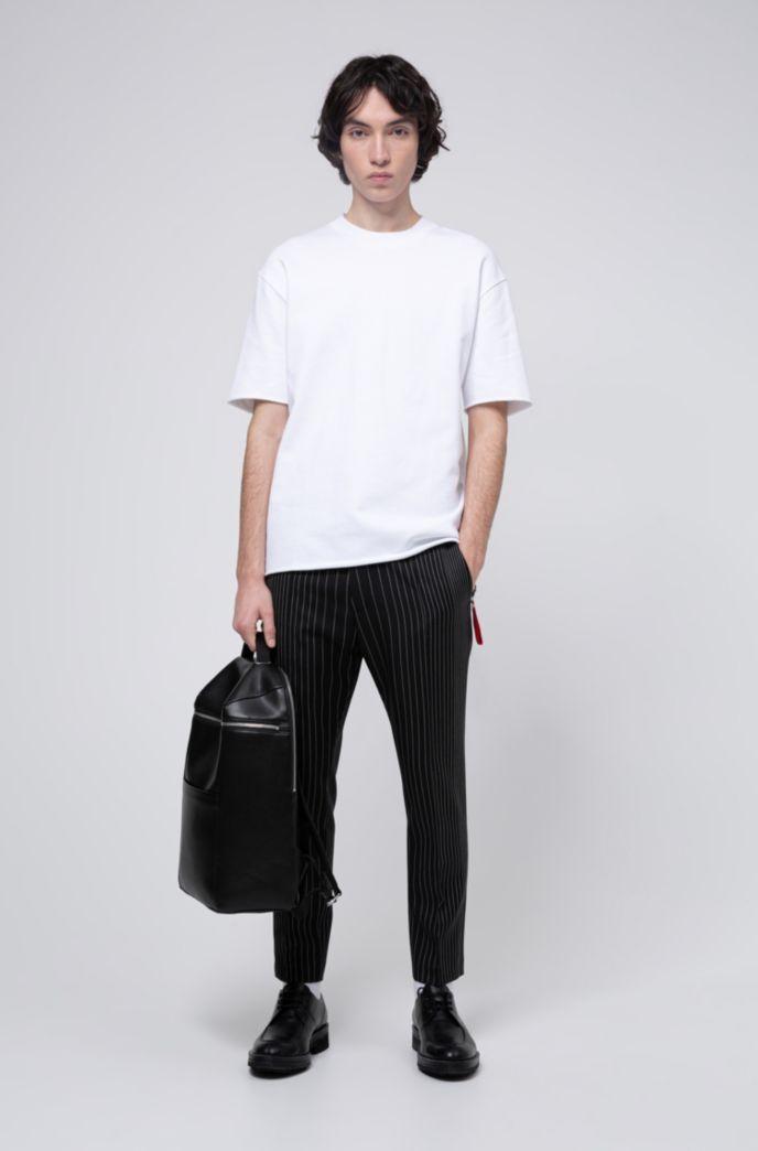 T-Shirt aus Baumwolle mit abnehmbarem Schlüsselanhänger der Kollektion