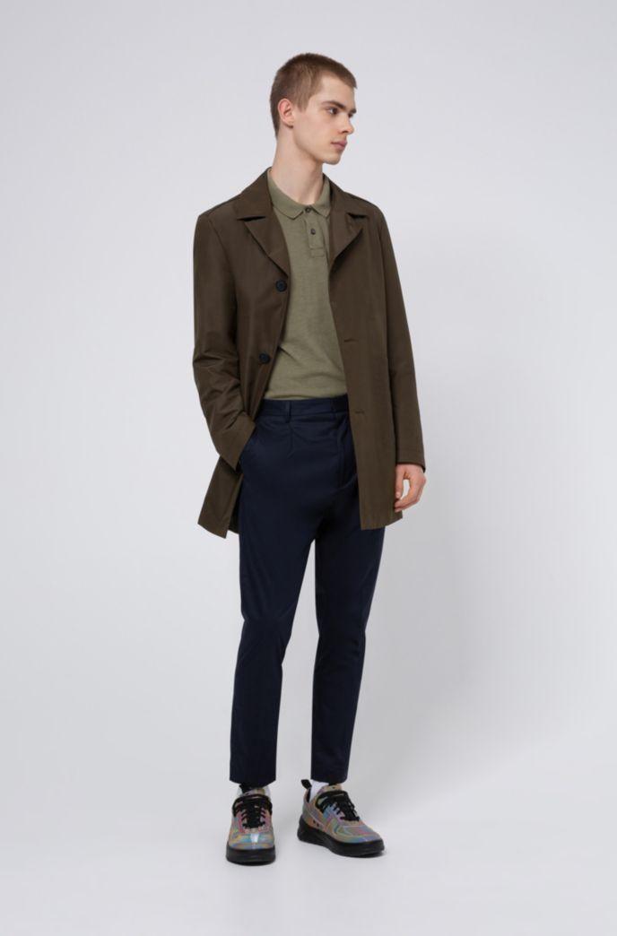 Garment-dyed polo van Recot2®-katoen