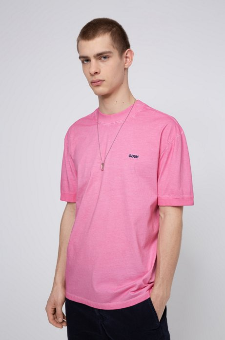Relaxed-fit T-shirt in eco-friendly Recot2® cotton, Pink