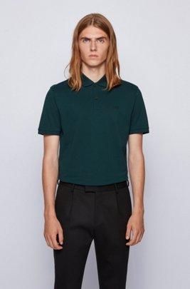 Poloshirt aus Pima-Baumwolle, Hellgrün