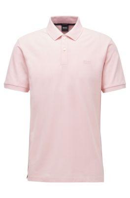 M/&S Damen-Polo-Piqué Poloshirt Braun