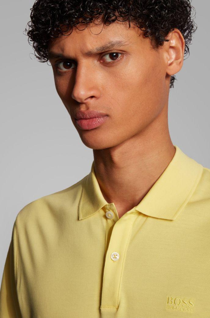 Regular-fit polo shirt in Pima-cotton piqué