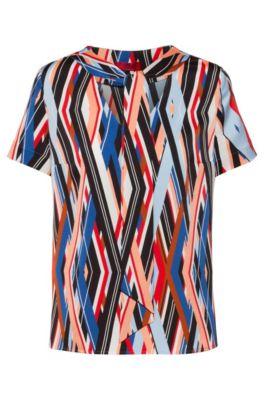 HUGO BOSSDamenT-Shirt Bluse KurzarmRot