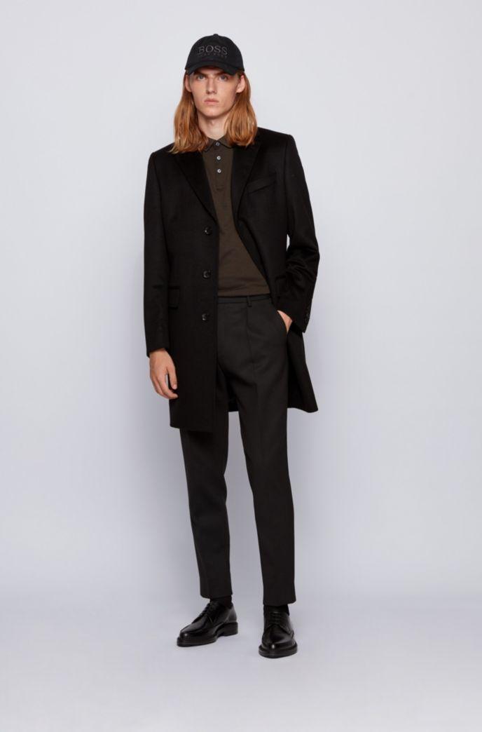 Regular-Fit Poloshirt aus Oxford-Baumwolle